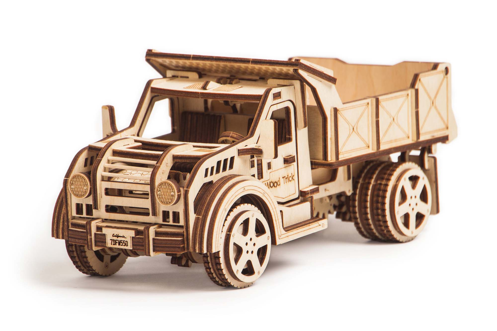 wooden model truck kits